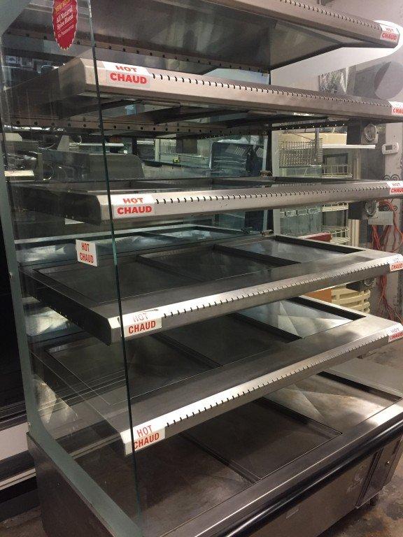 Brute Self Serve Hot Deli Merchandiser Mb Food Equipment