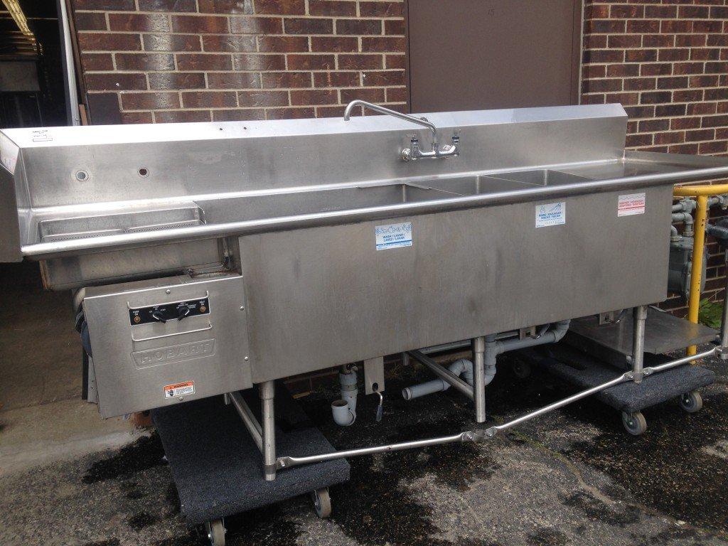Turbowash II Powered Sink | Utensil, Pot & Pan Washers
