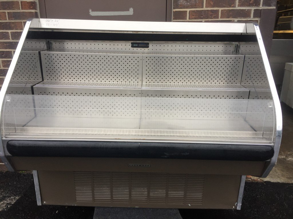Hussmann Open Air Refrigerated Merchandiser Mb Food