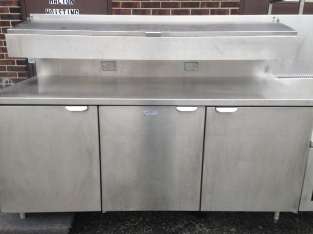 Royal Refrigerated Stainless Steel Table With Sinks Mb