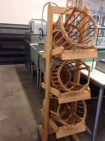 Three Tier Baguette Stand Mb Food Equipment