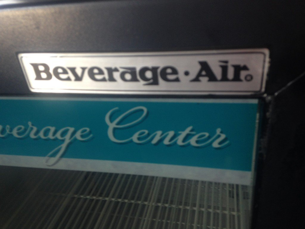 beverage air ct96y refrigerated merchandiser mb food