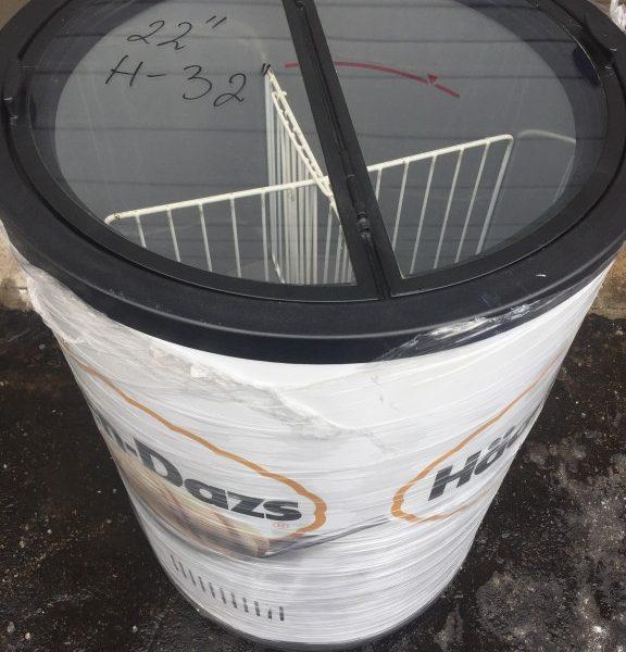 Barrel Style Merchandiser Freezer Mb Food Equipment