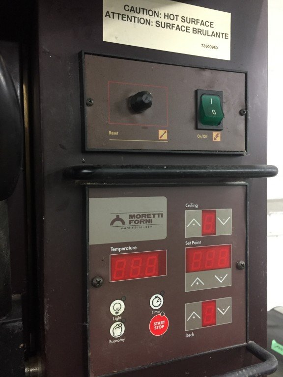 Moretti Forni 2 Deck Electric Bakery Pizza Oven Mb Food