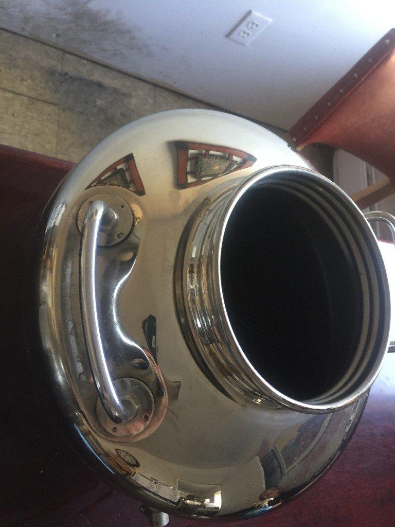Sansone 5 And 15 Liter Fusti Stainless Steel Oil Storage
