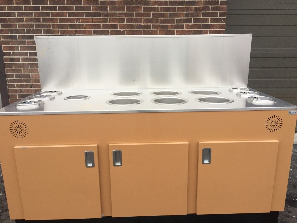 Self Service Soup Bar With Cup Dispensers Mb Food