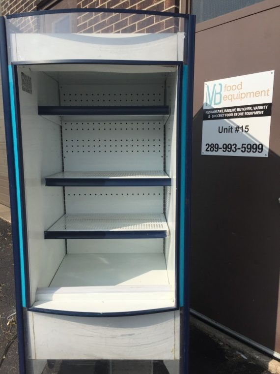 Used Metal Storage Cabinet >> Hussmann Produce Open Display Case - MB Food Equipment