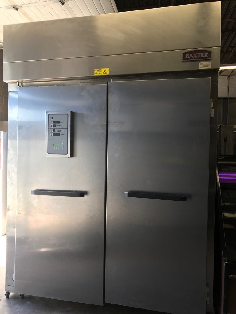 Baxter Rpw2s Double Roll In Retarder Proofer Cabinet