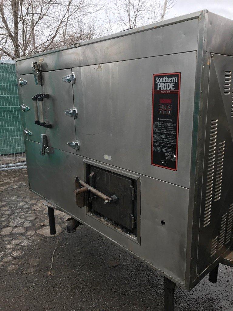 southern pride roasting oven   smoker model  bbr-79-1