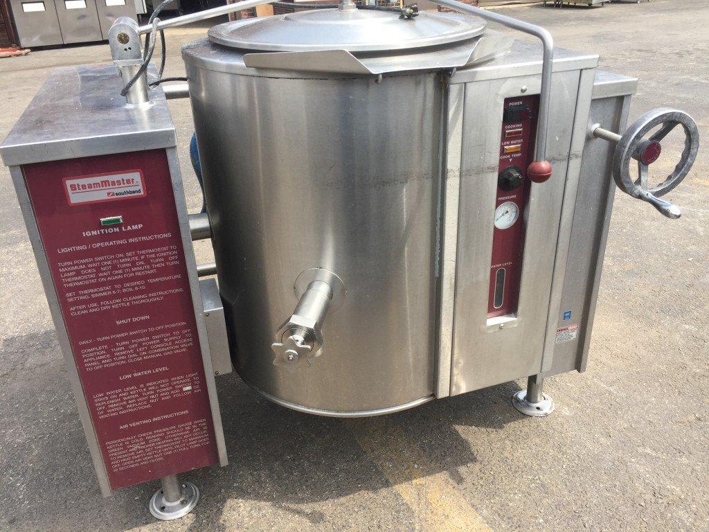 20 gal Tilting Gas Steam Kettle