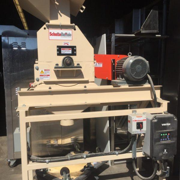 schuttebuffalo w series laboratory scale hammer mill