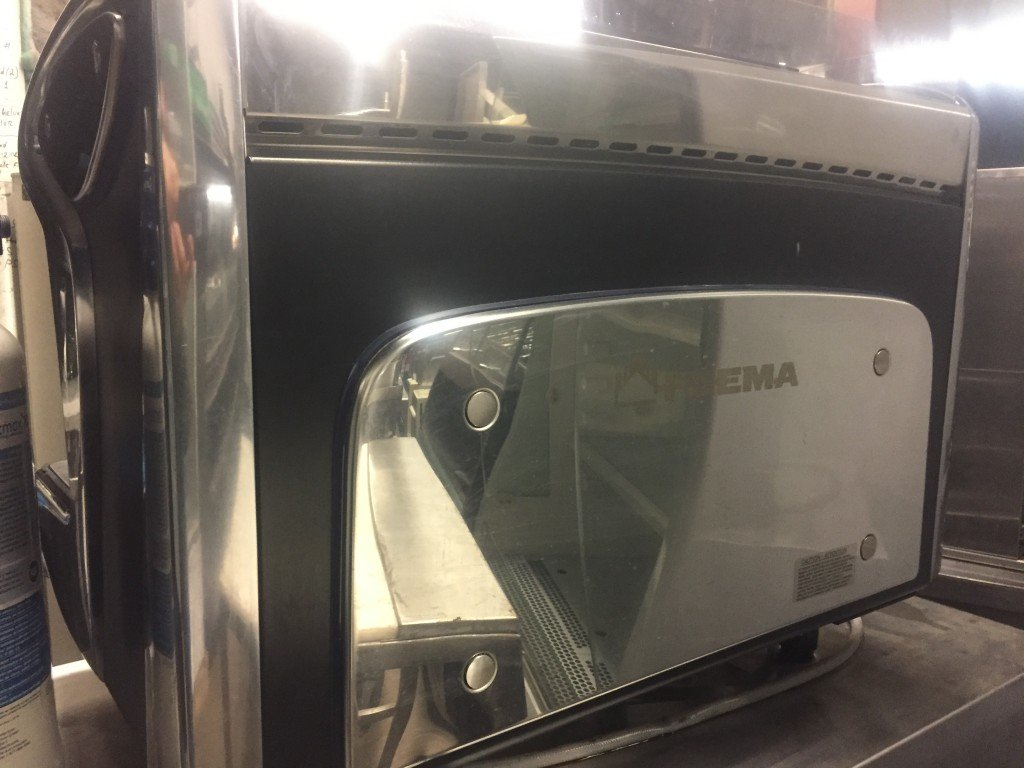 Faema Emblema Espresso Machine 2 Group Mb Food Equipment